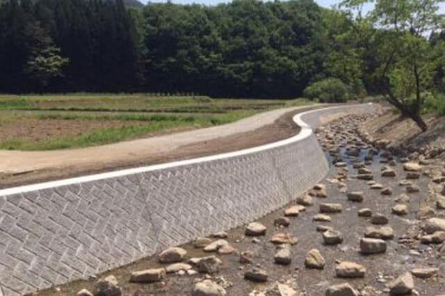 四釜川 河川災害復旧